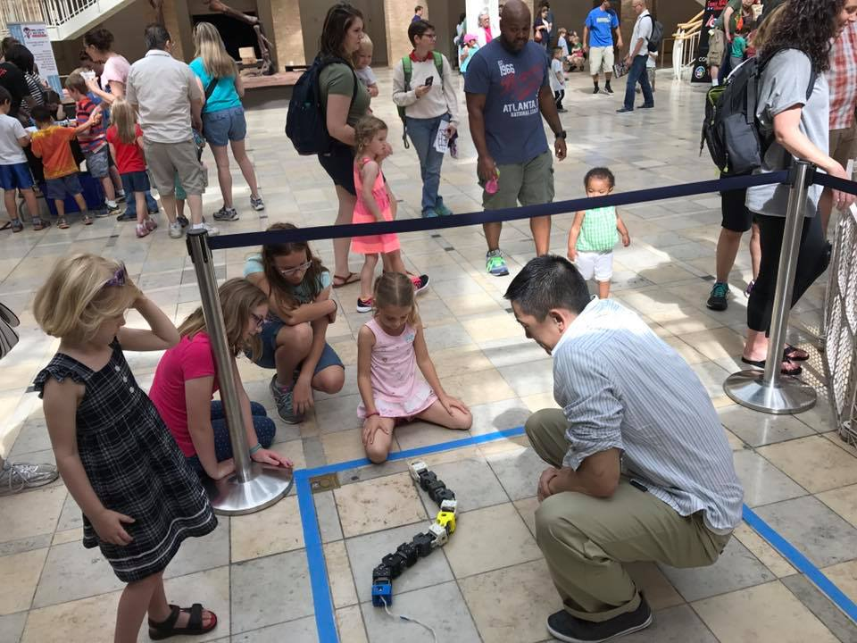 Robotics Day at the Fernbank 1